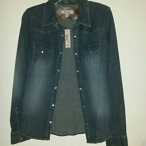 Brand New Decree Jeans Jacket